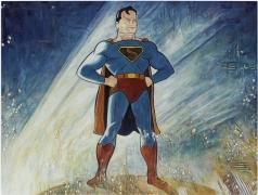 Superman, 2014, oil on linen