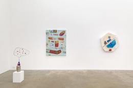 Heat Brain, installation view at Derek Eller Gallery, New York