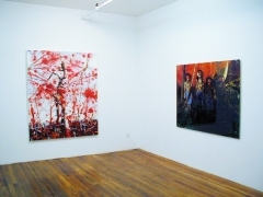 transnational monster league, installation view at Derek Eller Gallery, New York
