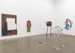 William King, Annabeth Marks, Annie Pearlman, Rachel Eulena Williams, installation view at Derek Eller Gallery, New York, 2018
