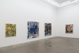 Despina Stokou, SHOUT!, installation view at Derek Eller Gallery, New York