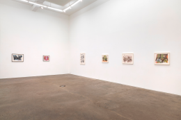 Thomas Barrow, Modest Structures: Caulked Reconstructions 1977-83, installation view at Derek Eller Gallery, New York