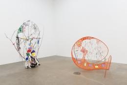 Michelle Segre,Dawn of the Looney Tune, installation view at Derek Eller Gallery, New York