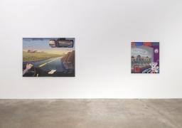 Melissa Brown, Between States, installation view at Derek Eller Gallery, New York