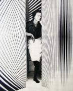 Bridget Riley, 2003, graphite on paper