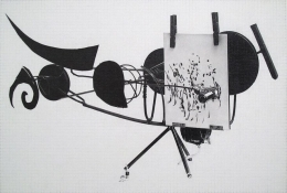 Dan Fischer Jean Tinguely, Meta-Matic No. 8, 2015