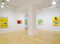 Karl Wirsum, installation view at Derek Eller Gallery, New York