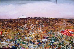 This Worrisome Land, 2003, oil on canvas