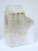 Shed Sculpture, 2005, plaster of paris, wood and paint