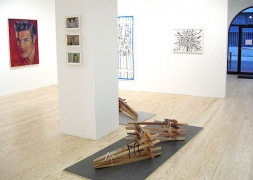 Inaugural Group Exhibition, installation view at Derek Eller Gallery, New York