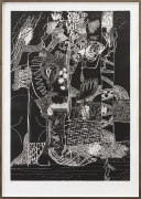 In Abyssinia, printed edition, 2011, woodcut print