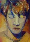 Keanu Dream, 2003, oil on linen