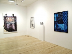 Hair and Skin, installation view at Derek Eller Gallery, New York
