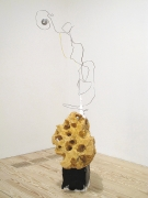 Cloud Minder, 2012, foam, metal, plaster, yarn, enamel, paper maché