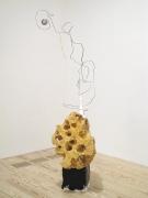 Cloud Minder, 2012, foam, metal, plaster, yarn, enamel, paper maché