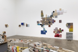 Nancy Shaver, fastness, slowness and Monstrous Beauty, installation view at Derek Eller Gallery