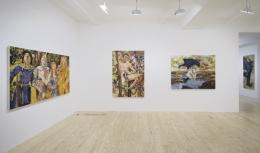 Keith Mayerson,Kings & Queens, installation view at Derek Eller Gallery, New York