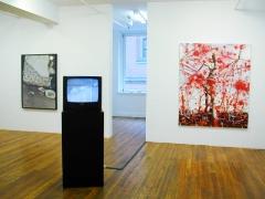 transnational monster league, installation view at Derek Eller Gallery, New York