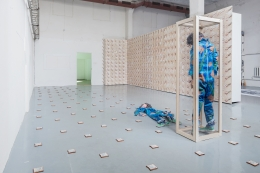 David Kennedy Cutler, Force Quit, installation view at ARS Projektiruum, Estonia