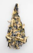 David Kennedy Cutler, Yellow Plaid (Bananas), 2017