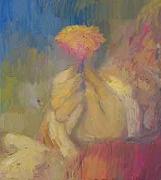 Rembrandt, 2002, oil on linen