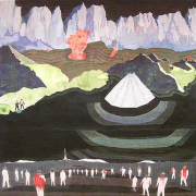 Demons Are Real, 2006, acrylic, ink and gel pen on paper