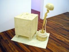 Welcome Home,2002, fiberglass, epoxy resin
