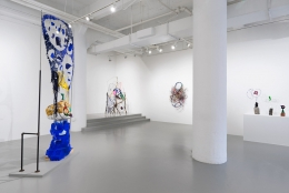 Sectional Planes and Driftloaves: Michelle Segre,installation view at Rosenwald-Wolf Gallery, The University of the Arts, Philadelphia
