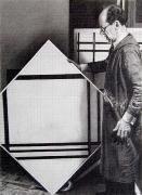 Piet Mondrian, 2003, graphite on paper