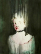 Choker,2004, watercolor on canvas