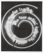 Bruce Nauman Neon (Window), 2001, graphite on paper