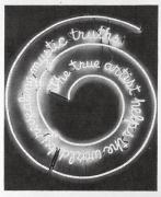Bruce Nauman Neon (Window), 2001, graphite on paper