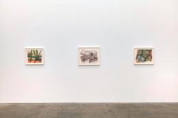 Thomas Barrow,Modest Structures: Caulked Reconstructions 1977-83, installation view at Derek Eller Gallery, New York