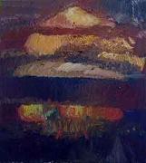 Bomb, 2001, oil on linen