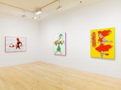 Karl Wirsum, installation view at Derek Eller Gallery, New York