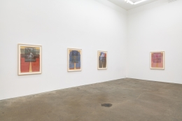 Ellen Lesperance,Lily of the Arc Lights, installation view at Derek Eller Gallery, New York