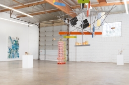 Auto-Correct: Despina Stokou - Peter Shire, installation view at 2405 Glover Place, Los Angeles, CA