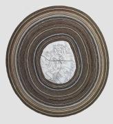 Rosebud, 2016, Fired and glazed ceramics, cardboard, card, paper, linen, cotton duck, stage film, polyester, felt, leaf gold, smalti, natural stones, plywood