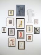 installation view at Derek Eller Gallery, 2012