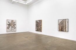 Installation view at Derek Eller Gallery, New York