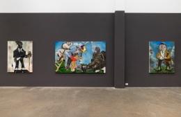 Jameson Green, installation view of Fiends' New Moon Ballet, 2021