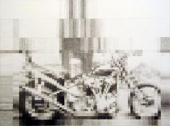 Chopper, 2005, graphite on paper