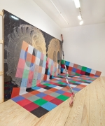 David Kennedy Cutler, Michael DeLucia, David Scanvino, installation view