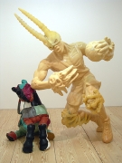 Sublime, 2008, Fiberglass, epoxy resin and pigment, rapid prototyping, milled foam