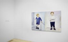 Keith Mayerson, My American Dream (Prologue), installation view at Derek Eller Gallery, New York