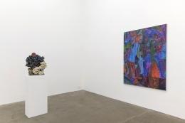 Tom Anholt / Chris Hammerlein, installation view at Derek Eller Gallery, New York