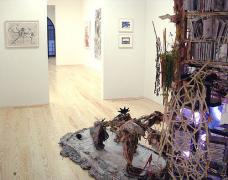 Inaugural Group Exhibition, installation view at Derek Eller Gallery, New York