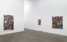 Steve DiBenedetto:Toasted with Everything, installation view at Derek Eller Gallery, New York, 2018