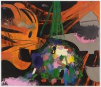 ELLEN BERKENBLIT, Tigers vs Witches, 2013