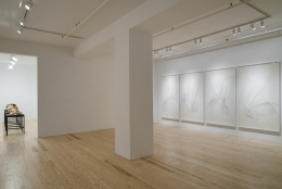 Alyson Shotz, Time Lapse, installation view at Derek Eller Gallery, New York